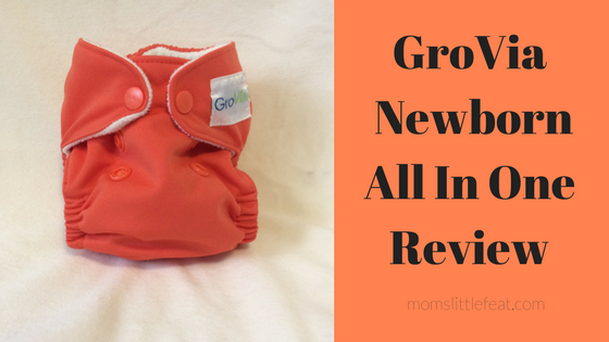 GroVia Newborn All In One Diaper Review