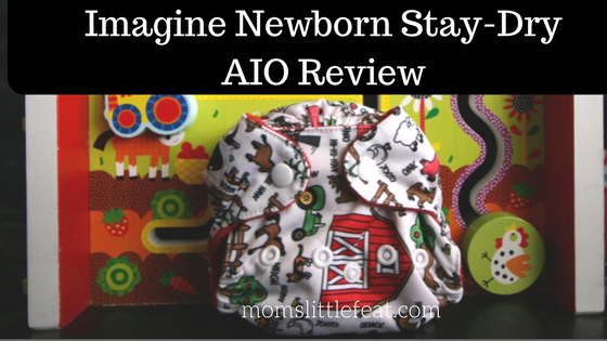 Imagine newborn Stay-Dry All in One Diaper Review