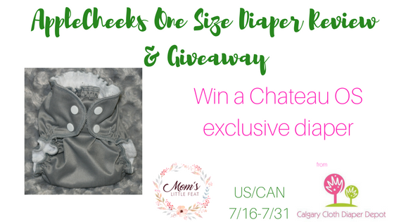 AppleCheeks One Size Diaper Review & Giveaway