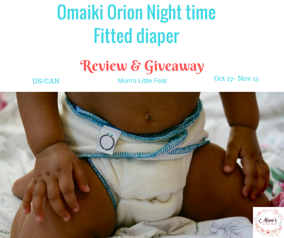 Omaki Orion night time fitted Review {+Giveaway}