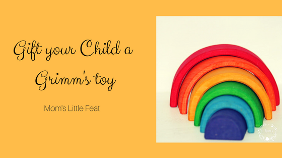 Gift your child a Grimm's toy {Review}