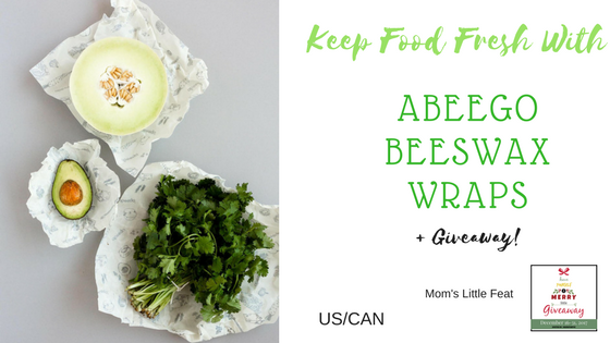 Keep Food Fresh with Abeego Beeswax Wraps