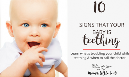 10 Signs Your Baby might be teething